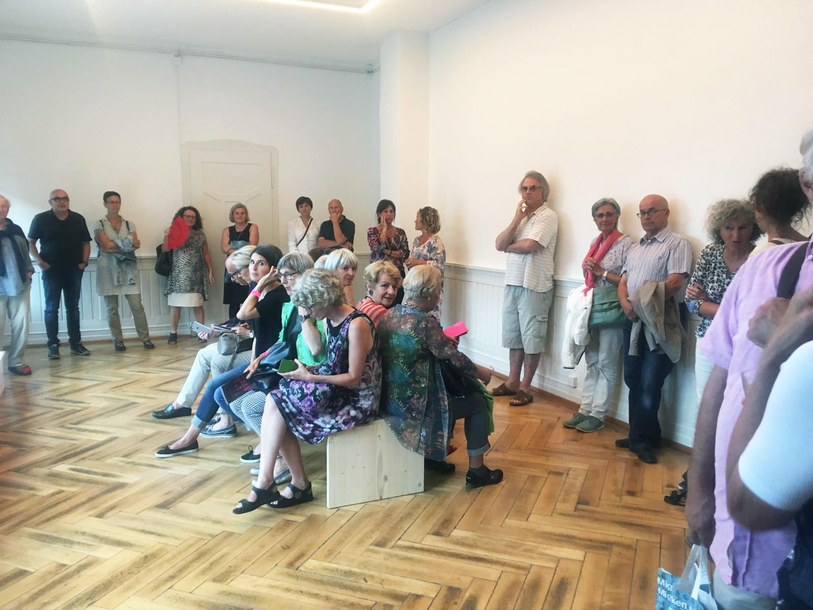 Museum of Emptiness / Eröffnung MoE / Foto: Paul Divjak