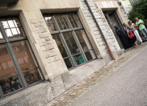MoE  Museum of Emptiness / Eröffnung MoE / Foto: M. Gossolt