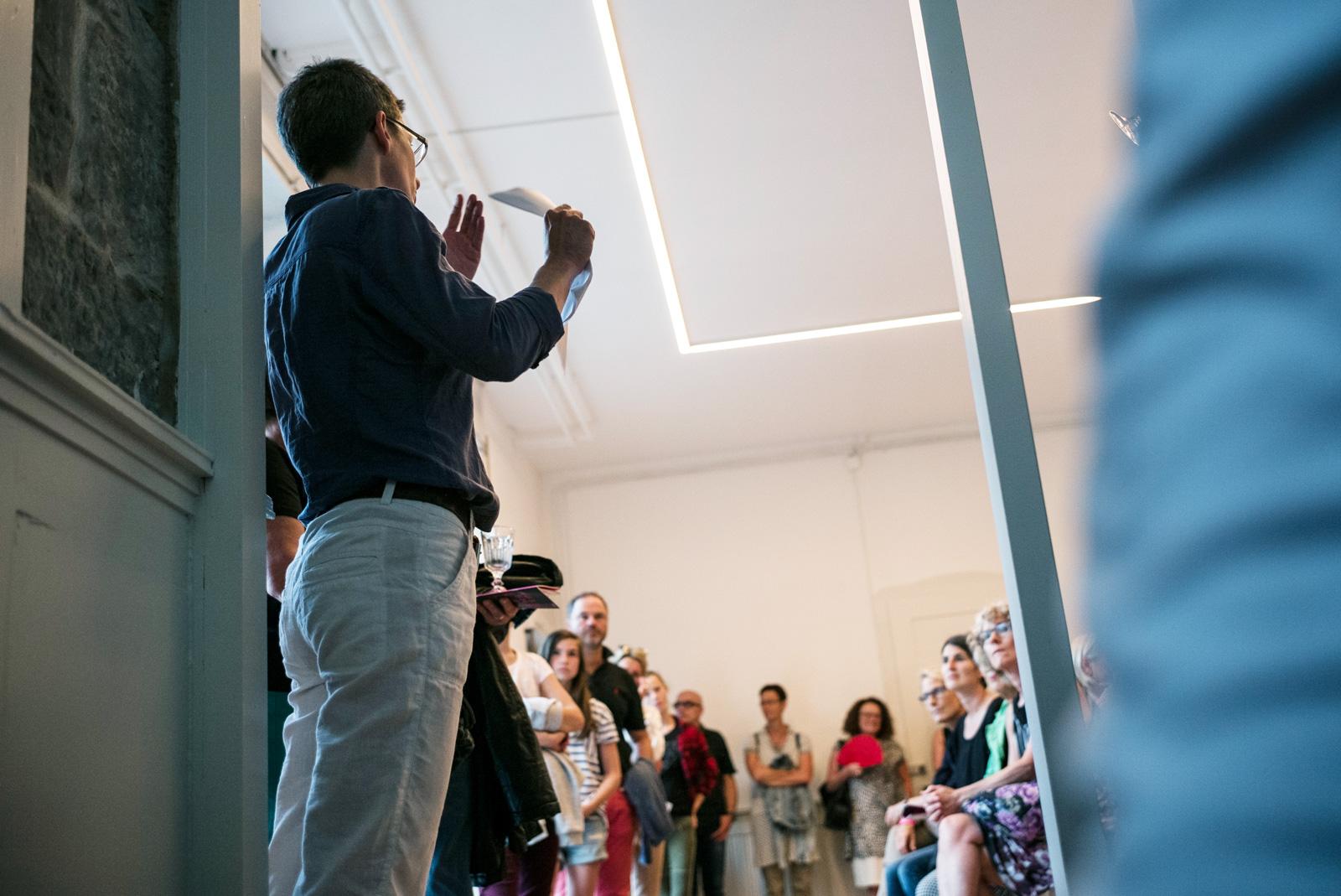 Museum of Emptiness / Eröffnung MoE / Foto: Marcus Gossolt