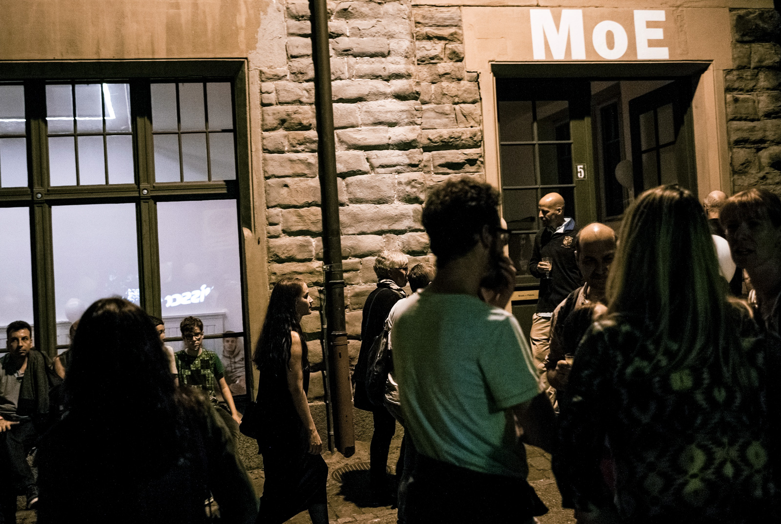 MoE  Museum of Emptiness / Museumsnacht / Foto: Marcus Gossolt