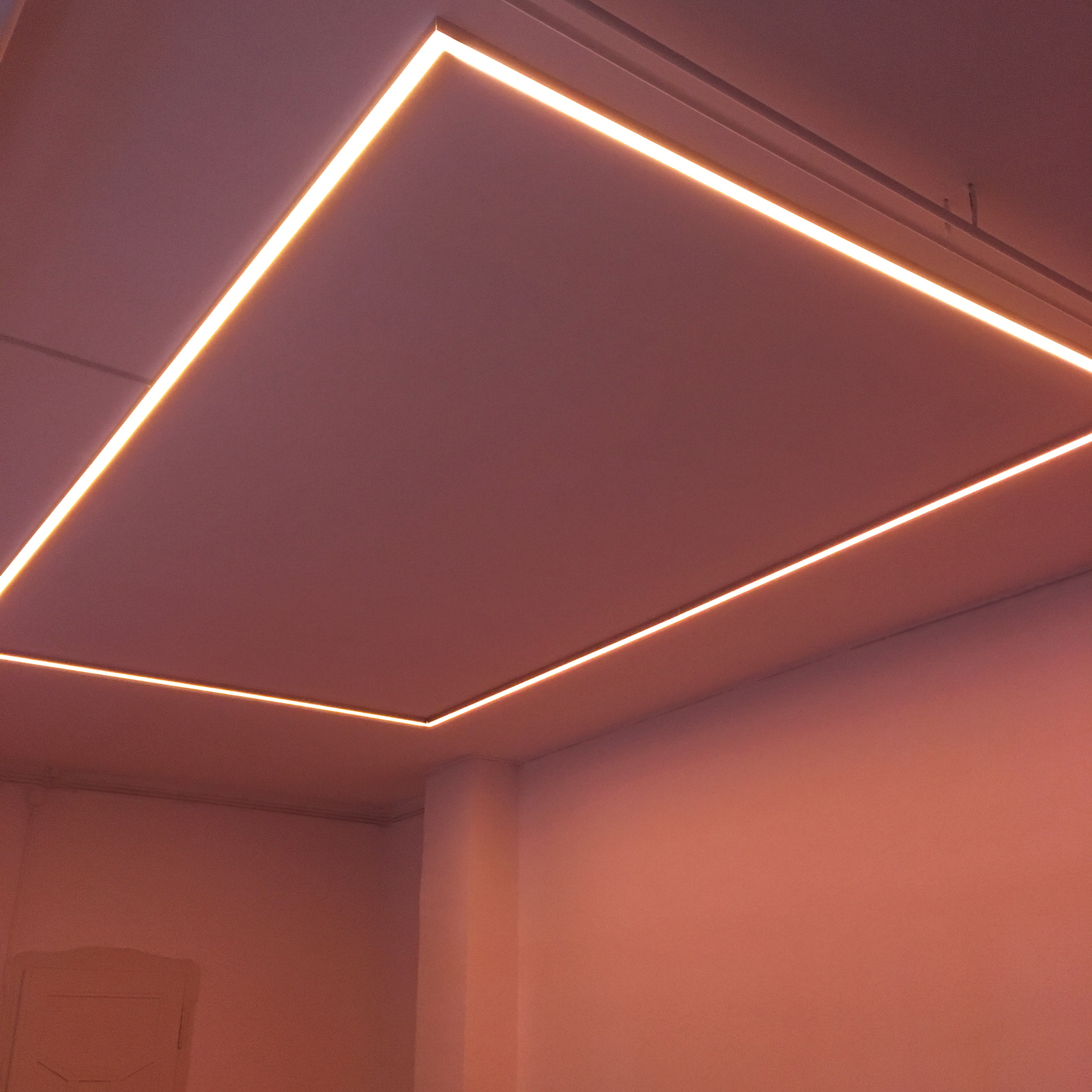 Museum of Emptiness / Lichtrahmen / Foto: Gilgi Guggenheim