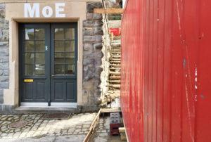 MoE Museum of Emptiness / Nachhall in der Leere / Uraufführung «Mondsichel mäht so leis ...» / Ursula Riklin - Lorenz, Roman Rutishauser / Foto: Gilgi Guggenheim
