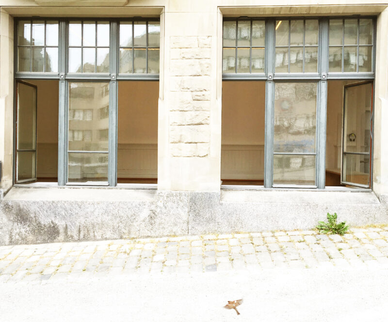 MoE Museum of Emptiness / Fensterflügel / Foto: Gilgi Guggenheim